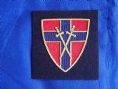 21st ARMY GROUP BLAZER BADGE